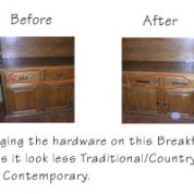Cabinet Hardware Makes a Difference
